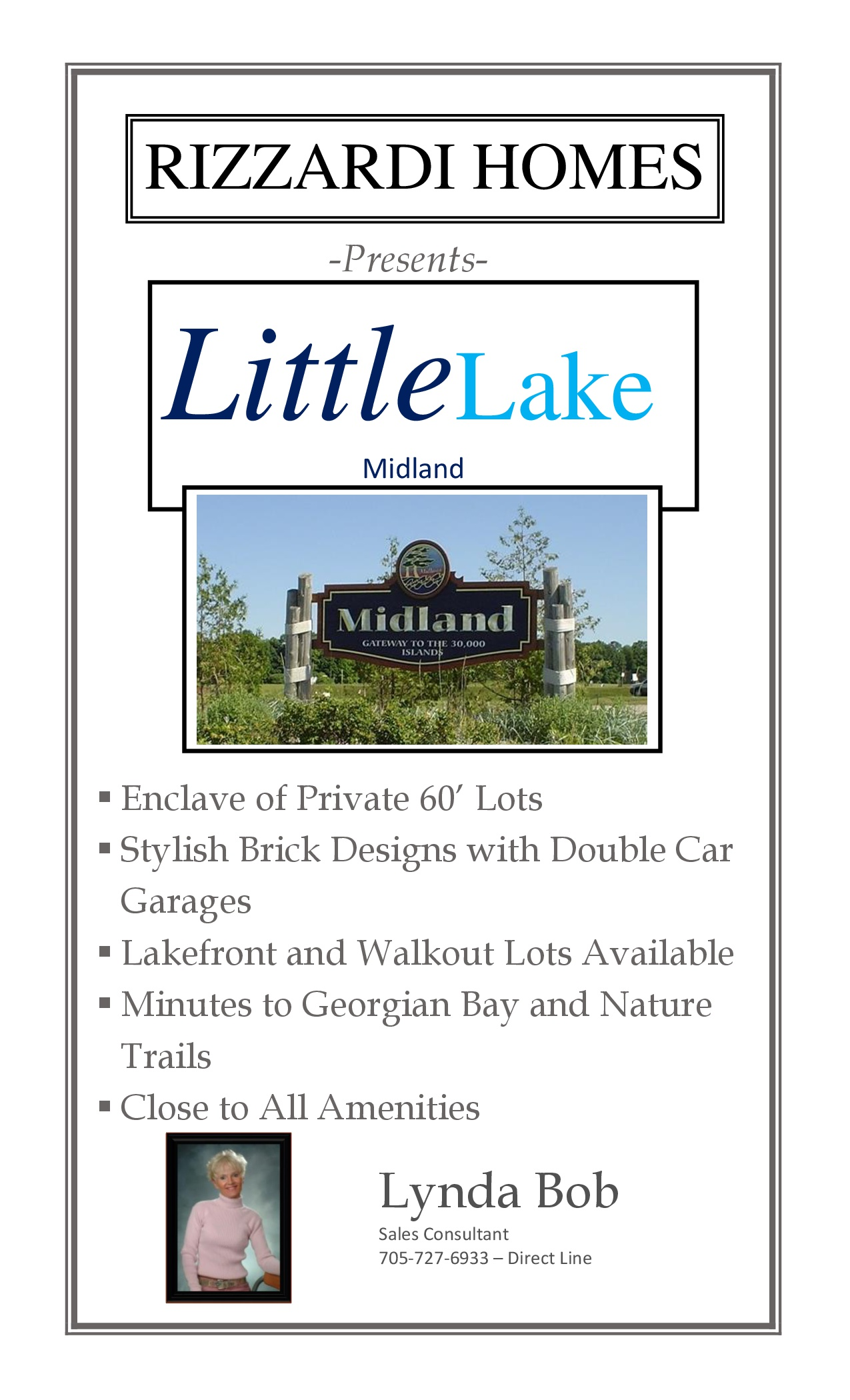 Midland Little Lake Cover Sheet